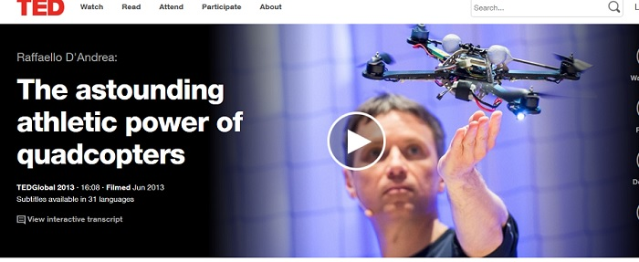 ASTOUNDING ATHLETIC POWER OF QUADCOPTERS